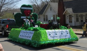 Then came the floats