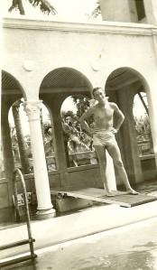 Vernon at Pool Palm Beach 1944