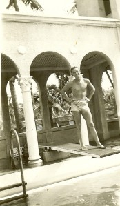 Vernon at Pool Palm Beach 1944