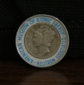 Irradiated Dime