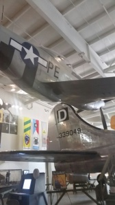 B17 Tail with Fighter