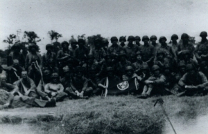 117th Regiment in Normandy