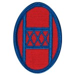 30th Infantry Division Patch