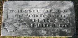 Herman Connell Jr Grave Marker