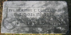 Herman Connell Jr Grave Marker