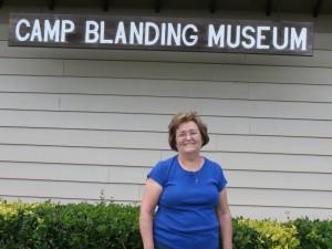 Barbara at Camp Blanding