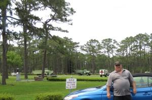 Pat at Camp Blanding